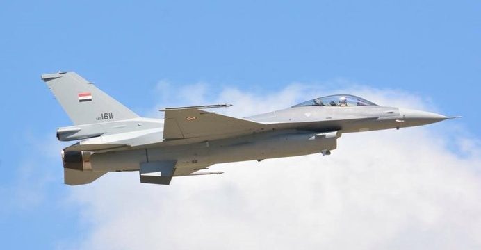Iracki F-16IQ Block 52 / Wikimedia Commons.