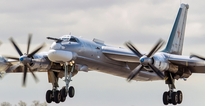 Tu-96MS / Wikimedia Commons