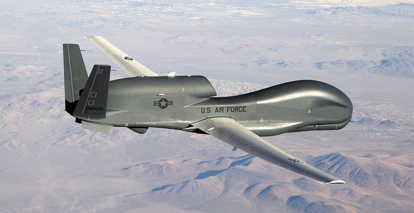 Northrop Grumman RQ-4 Global Hawk / Wikimedia Commons.