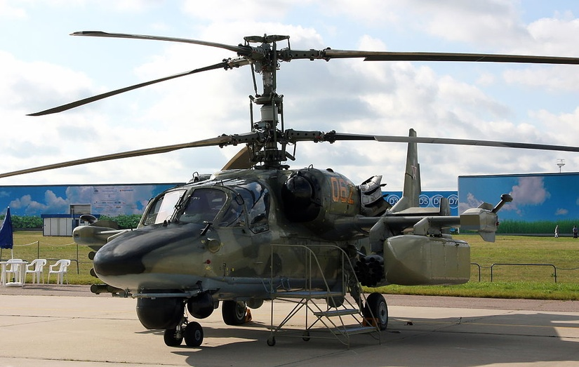 Ka-52 Alligator. / Wikimedia Commons.