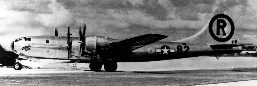 B-29 Superfortress Enola Gay. / Wikimedia Commons.