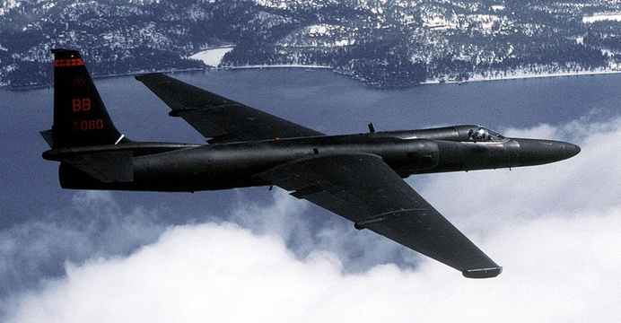 Lockheed U-2 Dragon Lady / Wikimedia Commons.