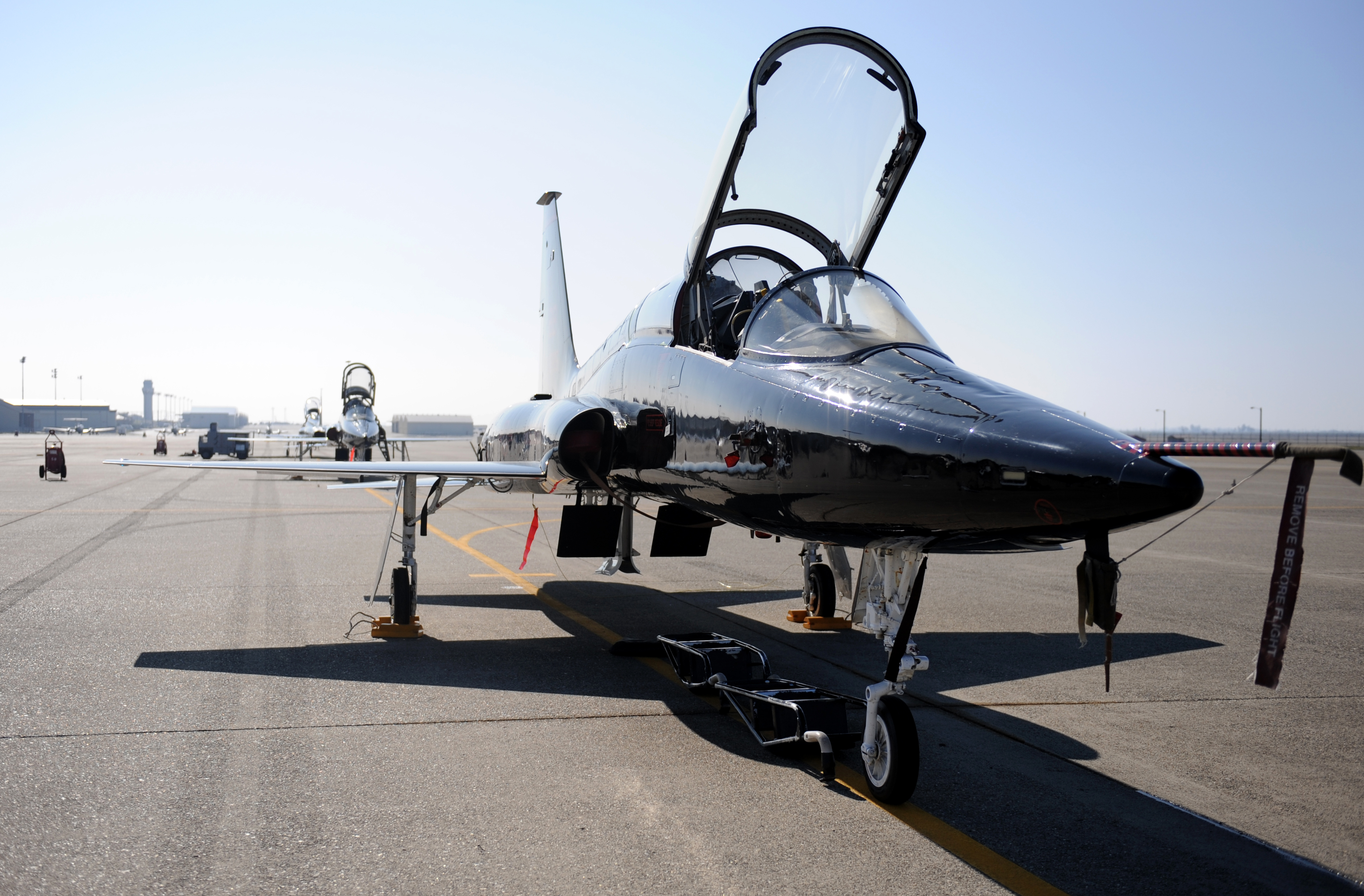 T-38A Talon (U.S. Air Force photo by Staff Sgt. Robert M. Trujillo/Released)