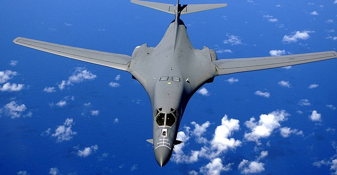 B-1B Lancer z 28. Skrzydła Bombowego w Ellsworth Air Force Base. (Wikimedia Commons)