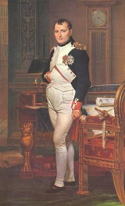 Napoleon I (mal. Jacques-Louis David)/ Źródło: Wikimedia Commons