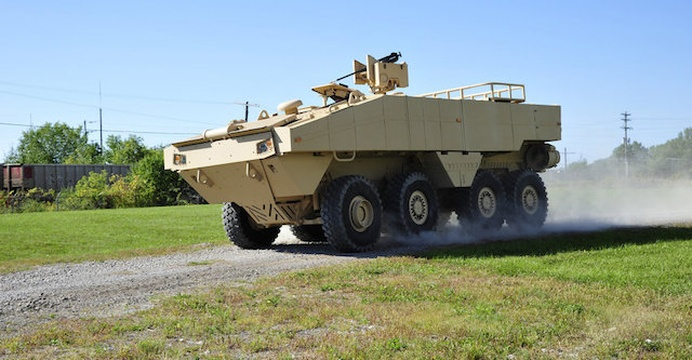 Amphibious Combat Vehicle (ACV) 1.1. / fot. Lockheed Martin.