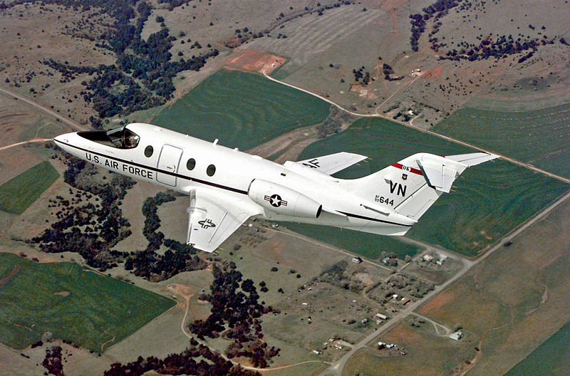 Raytheon T-1 Jayhawk (Wikimedia Commons)