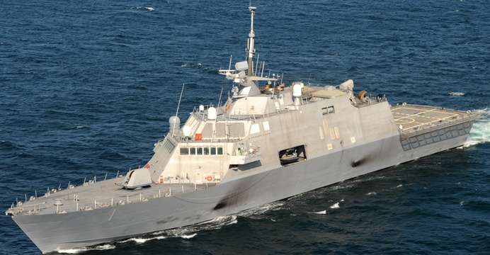 USS Freedom (LCS-1). / Wikimedia Commons.