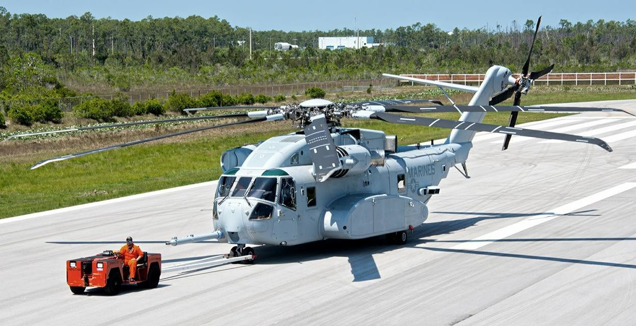 CH-53K King Stallion. / fot. Sikorsky Aircraft Corporation.