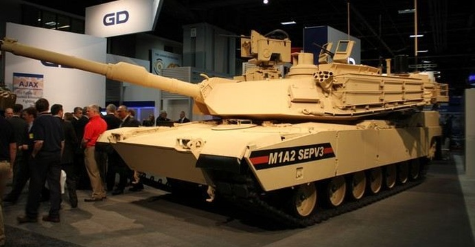 M1A2 SEPv3. / fot. General Dynamics Land Systems.
