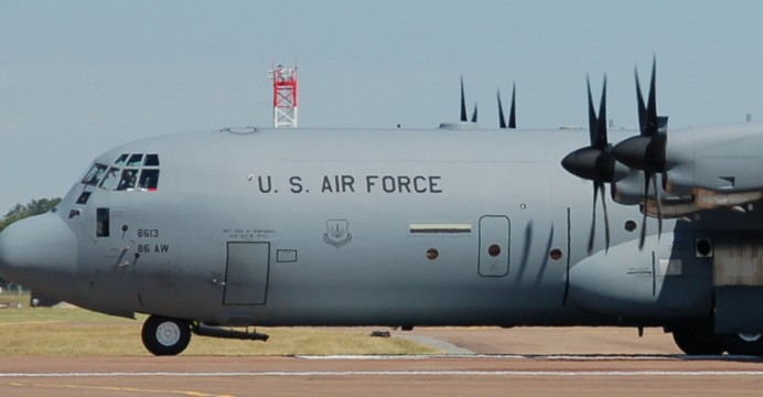 C-130J Super Hercules (Wikimedia Commons)