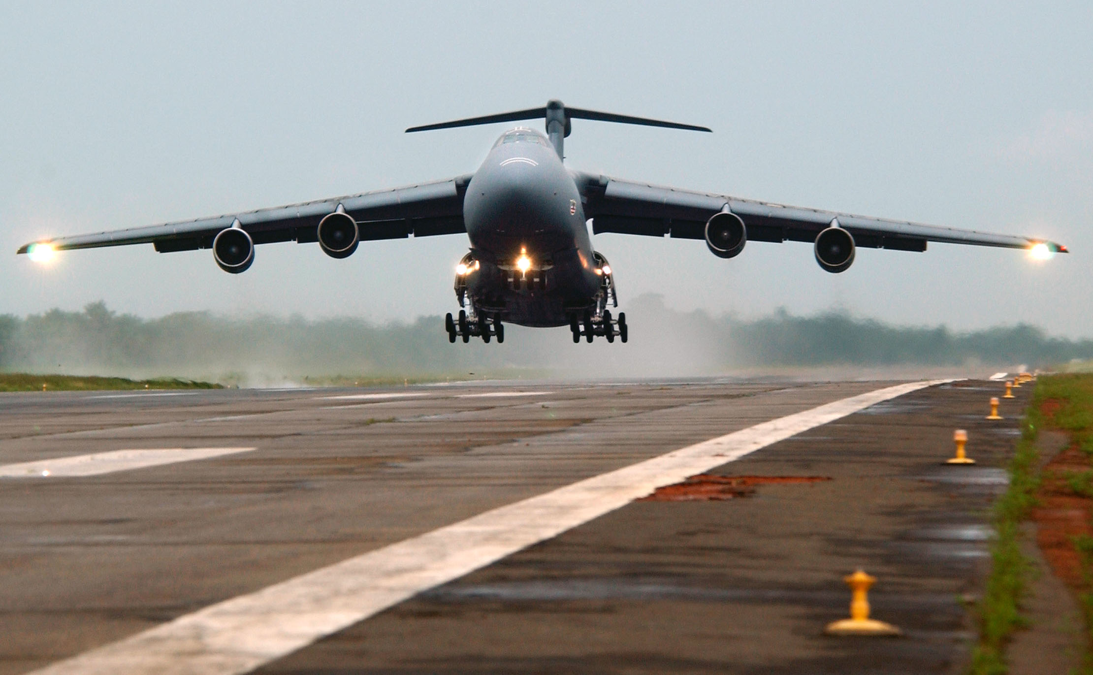 C-5 Galaxy (U.S. Air Force photo by Tech. Sgt. Justin D. Pyle)