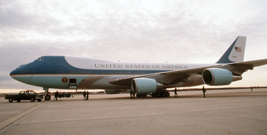 VC-25A - Air Force One. (