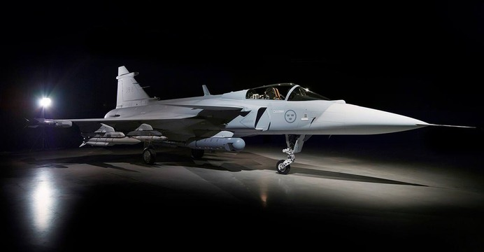JAS 39 Gripen E. / fot. Saab Defence and Security.
