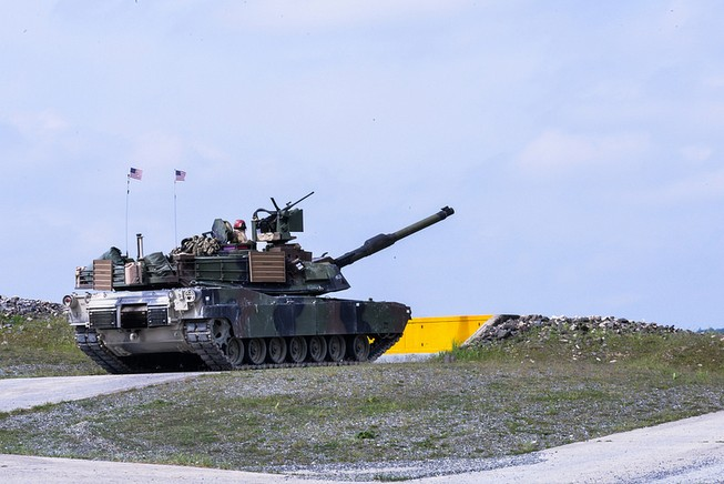 M1A2 Abrams SEP / fot. 7th Army Joint Multinational Training Command (Flickr).