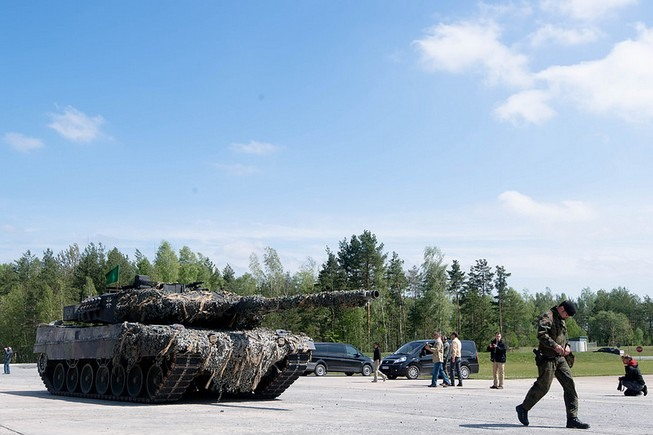 Leopard 2A6 (Niemcy) / fot. 7th Army Joint Multinational Training Command (Flickr).