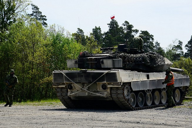 Leopard 2A5 (Polska) / fot. 7th Army Joint Multinational Training Command (Flickr).