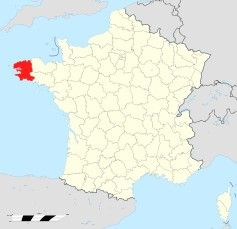 Departament Finistère. / Wikimedia Commons.