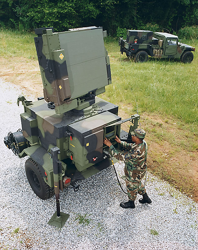 Stacja radiolokacyjna AN/MPQ-64F1 Improved Sentinel. / Wikimedia Commons (US Army official photo).