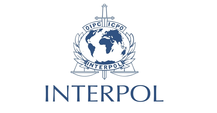 Logo Interpolu. /Fot. Interpol