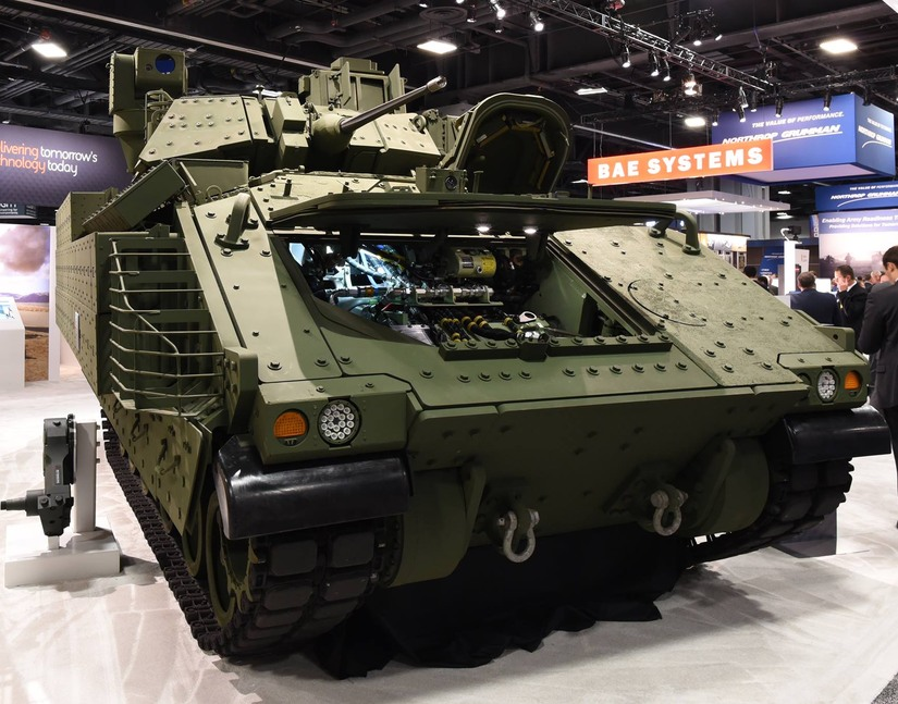 Demonstrator bojowego wozu piechoty Bradley Next Generation. / fot. BAE Systems, Inc.