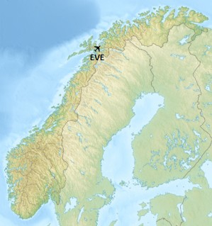 Baza lotnicza Evenes, Nordland, Norwegia. / Wikimedia Commons.