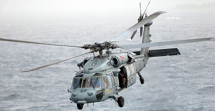 MH-60S Seahawk. / Wikimedia Commons (U.S. Navy photo by Mass Communication Specialist 3rd Class Justin R. Blake/Released).