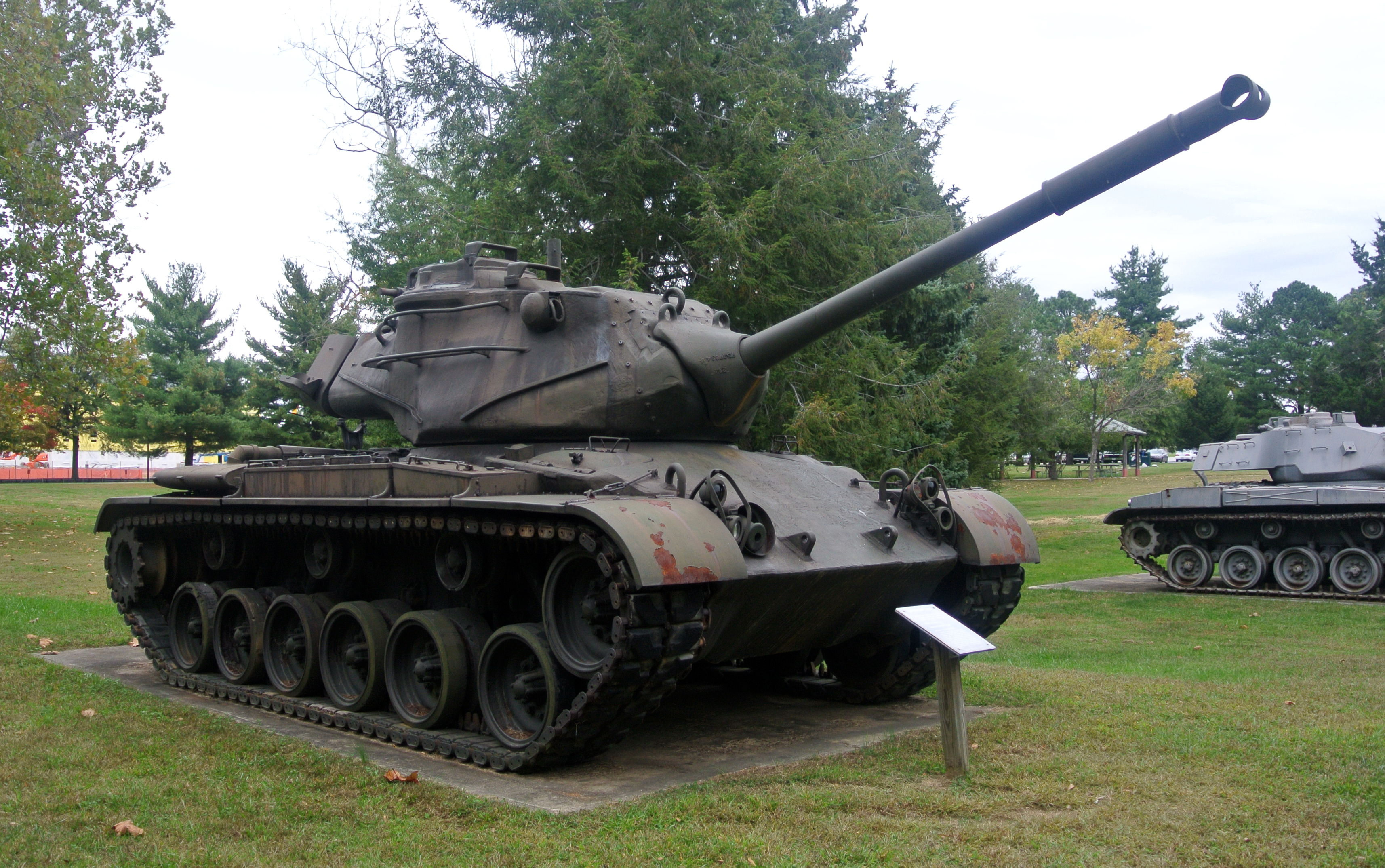 M47 Patton Fort Meade, w stanie Maryland. /Fot. Wilson44691, via Wikimedia Commons, na licencji CC0