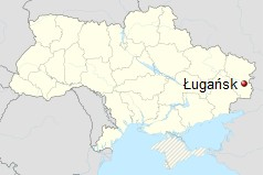 Ługańsk, Ukraina. / Wikimedia Commons.