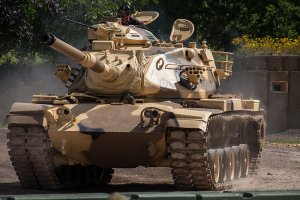 M60A3. /Fot Simon Q, na licencji CC BY 2.0 via Wikimedia Commons.